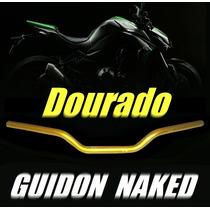 Guidão, Guidon Xre, Falcon, Tornado, Cg, Fan ((( Dourado )))