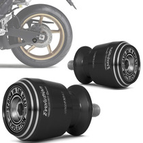 Slider Traseiro Racing Moto Universal Preto Evolution M8