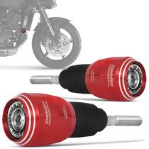 Slider Hornet Moto Honda Dianteiro Racing Evolution Vermelho