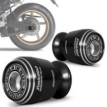 Slider Traseiro Racing Evolution C/ Suporte Universal Preto