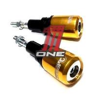 Par Slider Dianteiro Para Moto Hornet 2013 Cb600f Dourado