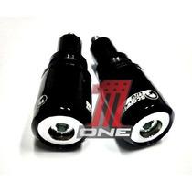 Par Slider Moto Hornet 2012 Cb600f Cor Preto Anti Impacto