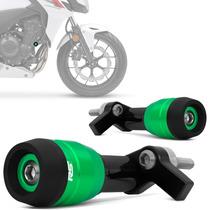 Slider Cb500f 2013 2014 Dianteiro Racing Moto Rsi Verde