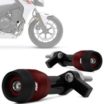 Slider Cb500f 2013 2014 Dianteiro Racing Vermelho Rsi Moto