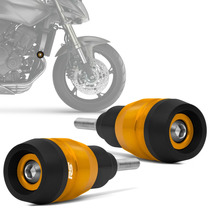 Slider Hornet 2008 A 2014 Protetor Motor Dourado Escuro Rsi