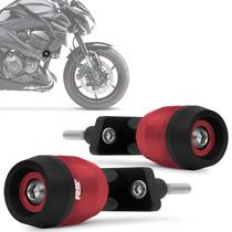 Slider Z800 2013 A 2014 Kawasaki Dianteiro Vermelho Rsi Moto