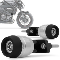 Slider Z800 2013 2014 Protetor Motor Racing Prata Rsi Moto