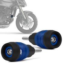 Slider Hornet 2008 A 2014 Dianteiro Racing Azul Moto Rsi