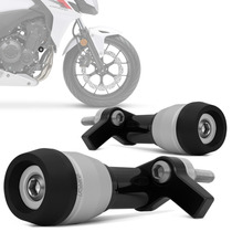 Slider Cb 500f 2013 2014 Protetor Motor Branco Fosco Rsi Par