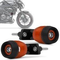 Slider Z800 2013 2014 Racing Kawasaki Laranja Rsi Moto Par