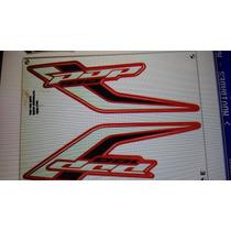 Adesivo Honda Pop 100 2015 Vermelha - Frete R$9.90