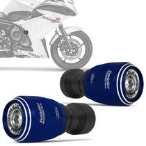 Slider Dianteiro Xj6 F 2010 2011 2012 2013 2014 2015 Azul