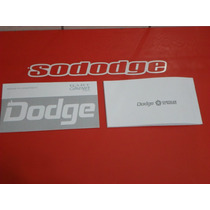 Dodge Charger R/t-manual Do Proprietario 77-