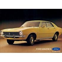Borracha Do Parabrisa Ford Maverick 4 P 1973 A 1979