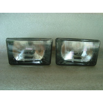 Farol Fiat 147 Europa Pick-up City Panorama Mascara Negra