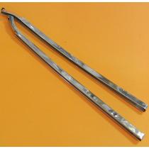 Par De Friso De Aluminio Entre Vidros Do Opala 2 Portas