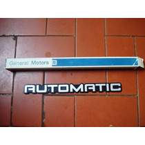 Opala 91 Á 92 Comodoro- Emblema Automatic Do Porta Malas
