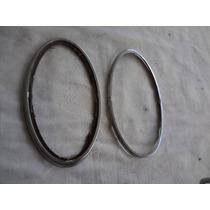 Aro Metal Lanterna Fusca Peça Originais (placa Preta )