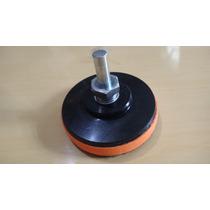 Kit Polimento Disco Macio Velcro Para Boina 3 E Adaptador