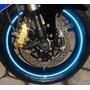 Fita Friso Adesivo Refletivo Curvo Para Moto Carro