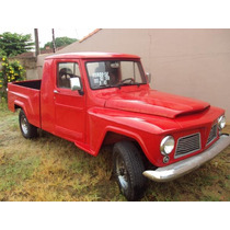 Borracha Kit (jogo) Pick-up F75 Willys Ford 1960 A 1983