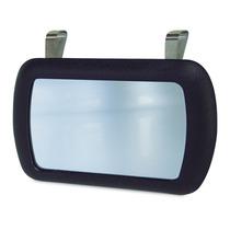 Espelho Quebra Sol Carro Jeep Caminhonete Preto Universal