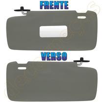 Quebra Sol Uno Premio Elba Fiorino 85 - 12 Mod. Luxo Cinza