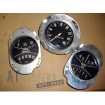 Conjunto Velocímetro E Marcadores Aero Willys Itamaraty