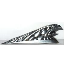 Cabeça De Águia Paralama Dianteiro Moto Custom Pequeno
