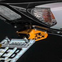 Suporte De Placa Eliminador Ironwing Srad 750 E 1000 Dourado
