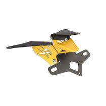 Suporte De Placa Eliminador Ironwing Hayabusa Dourado