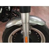Paralama Dianteiro Artesanal Aço P/ Fatboy 160x50cm S/ Aba