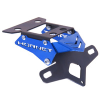 Suporte De Placa Eliminador Ironwing Hornet Cb600f Azul