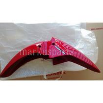 Paralama Dianteiro Titan 160 Ex Vermelho - Original Honda