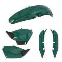 Kit Plástico Carenagem P/ Honda Titan Cg 125 Ano 2002 Verde