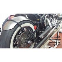 Paralama Artesanal Aço Para Moto Bobber Custom Café 180mmx90