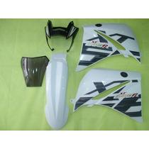 Kit Carenagem Xt660 Branca 2015 Com Bolha Speed China