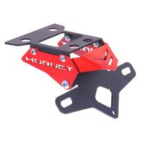Suporte De Placa Eliminador Ironwing Hornet Cb600f Vermelho