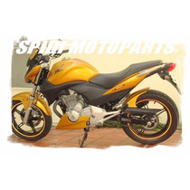 Kit Paralama Esportivo E Spoiler Motor Honda Cb300r Primer