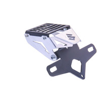 Suporte De Placa Eliminador Ironwing Suzuki Srad 750 Prata