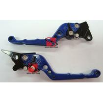 Manete C/ Regulagem Azul Cbx200 Strada Twister Cb300 (4846)