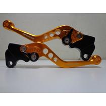 Manete Esport Alum.dourado C/ 6 Reg Yamaha Ybr 125 E/k 00-11