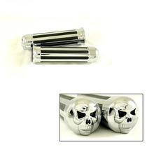 Manoplas Skull-harley/custom/chopper/triciclo/drag/vtx/lc
