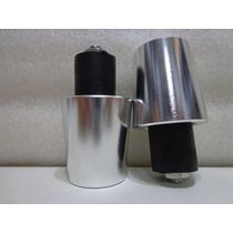 Peso Para Guidao Universal(par) Aluminio Anodizado Prata