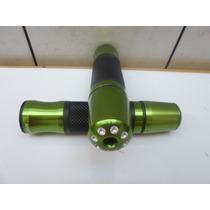 Manopla Jupiter Kawazaki Er6n,z750 C/peso Cor Verde Nº 1