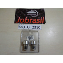 Moto 2310 Peso Manopla Para Guidão Cromado Wester
