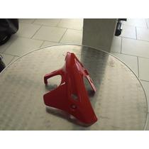 Tampa Do Motor(spoiler) Lado Dir.dafra Riva 150 Vermelha