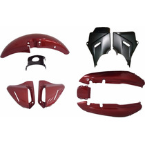 Kit Carenagens Cbx200 Strada Cores Modelo Original