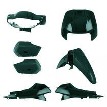 Kit Tampas+carenagem Completo Biz 100 Verde 2002