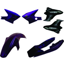 Carenagem Ybr Factor Roxo 2010 Kit Completo